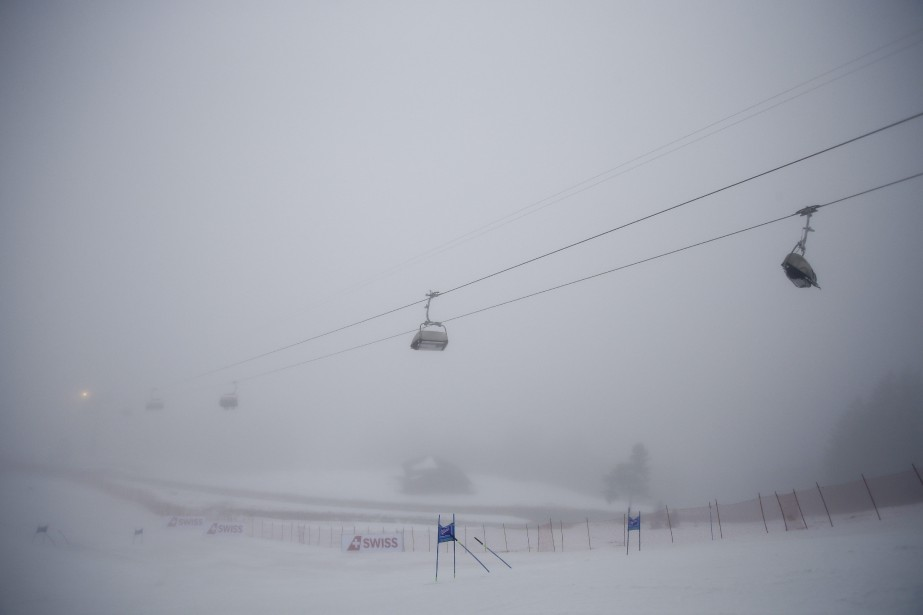 La météo semblant stagnante, le slalom prévu dimanche... (Photo Giovanni Auletta, AP)