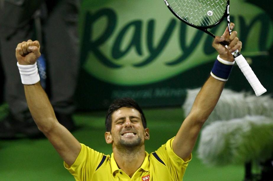 Novak Djokovic... (Photo Ibraheem Al Omari, Reuters)