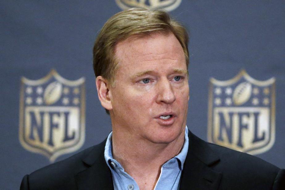 Le commissaire de la NFL,Roger Goodell.... (Photo Ross D. Franklin, archives AP)