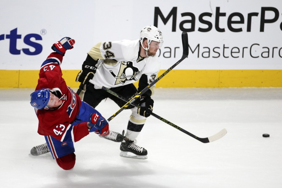 Daniel Carr et Tom Kuhnhackl (Photo Robert Skinner, La Presse)