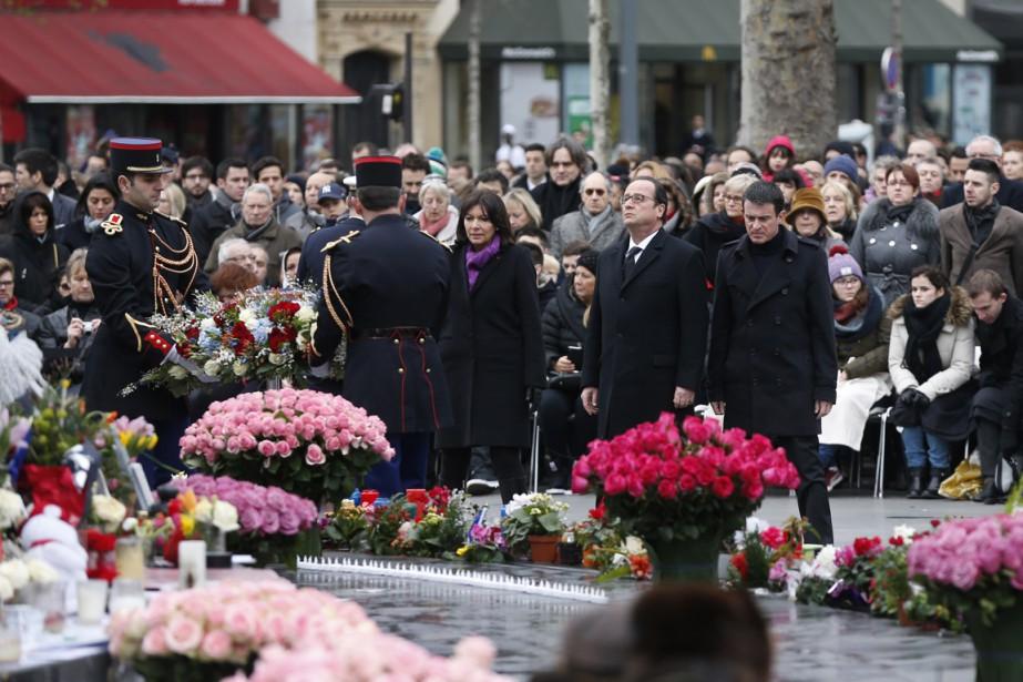 Coup d'envoi à cette cérémonie organisée sous très... (PHOTO THOMAS SAMSON, AFP)
