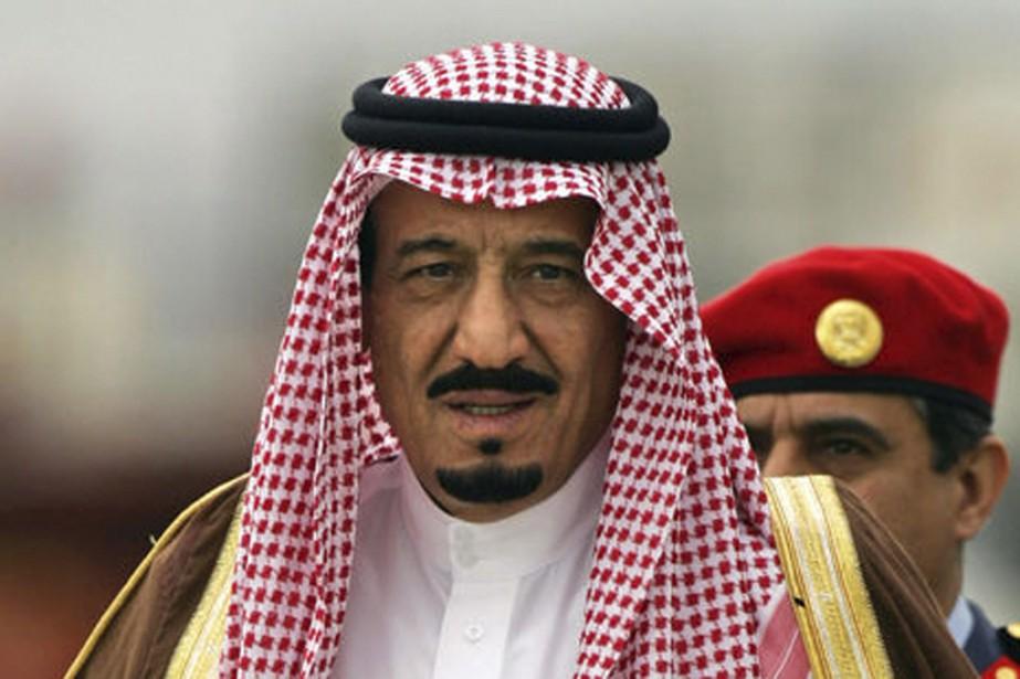 Le roi Salmane d'Arabie saoudite.... (photo archives Afp)