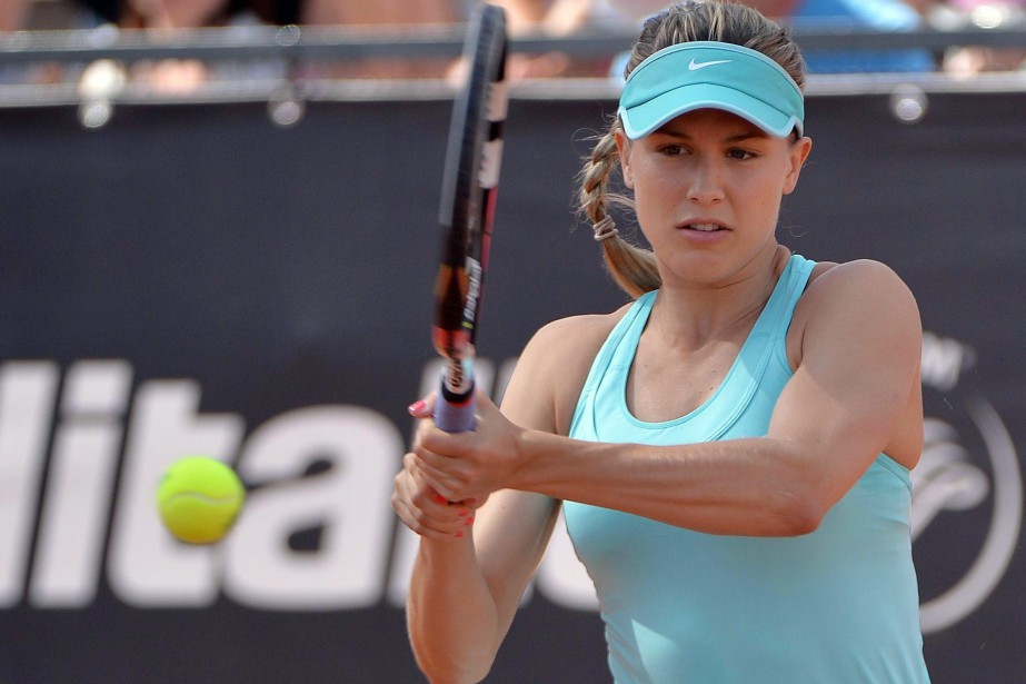 Eugenie Bouchard... (PHOTO ARCHIVES ASSOCIATED PRESS)
