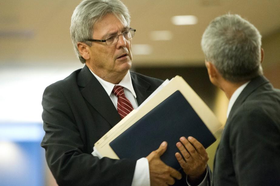 L'avocat d'Idelson Guerrier, MeFrançois Bérichon, dans les couloirs... (PHOTO IVANOH DEMERS, ARCHIVES LAPRESSE)
