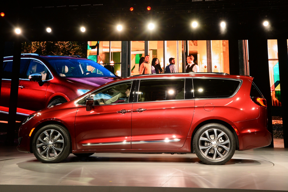 La Chrysler Pacifica 2017... (Photo Jewel Samad, AFP)