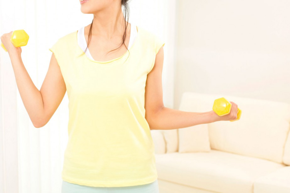 Envie de vous remettre en forme, à partir de la maison?... (PHOTO THINKSTOCK)