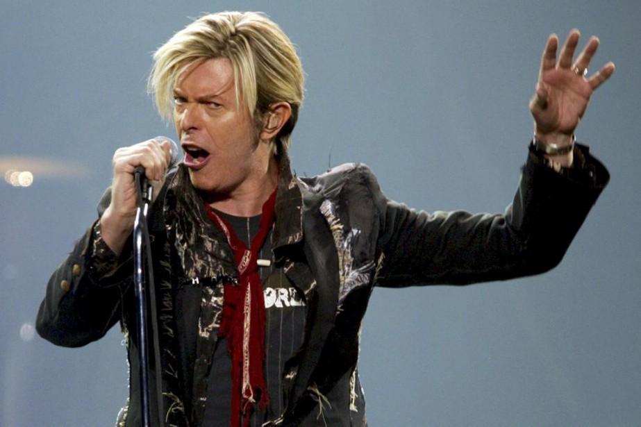 David Bowie en spectacle à Montréal, le 13... (Photo SHAUN BEST, archives Reuters)