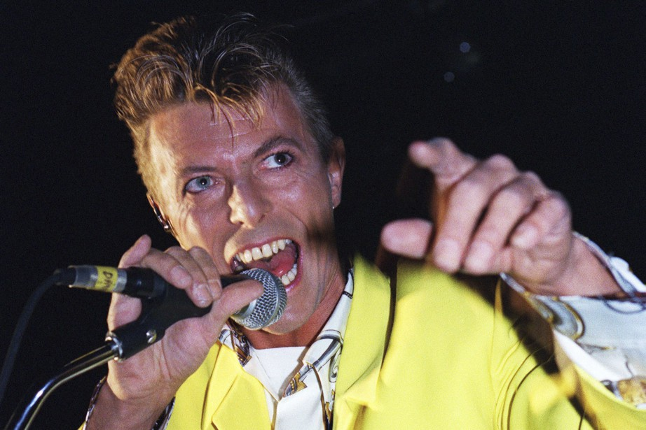 David Bowie, ici à l'Olympia de Paris en...
