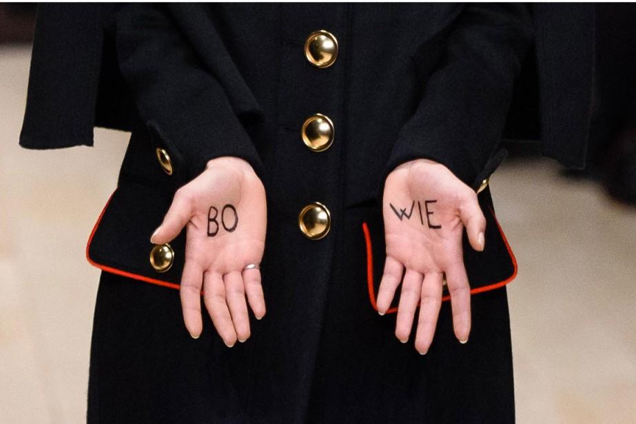 Pour la Fashion Week de Londres, le créateur... (PHOTO AFP)