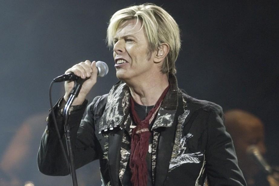 David Bowie en 2003... (PHOTO KATHY WILLENS, ARCHIVES AP)