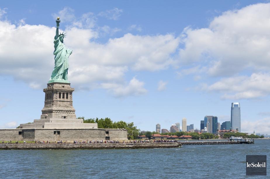 La statue de la libert aura son mus e nouvelles for Createur statue de la liberte