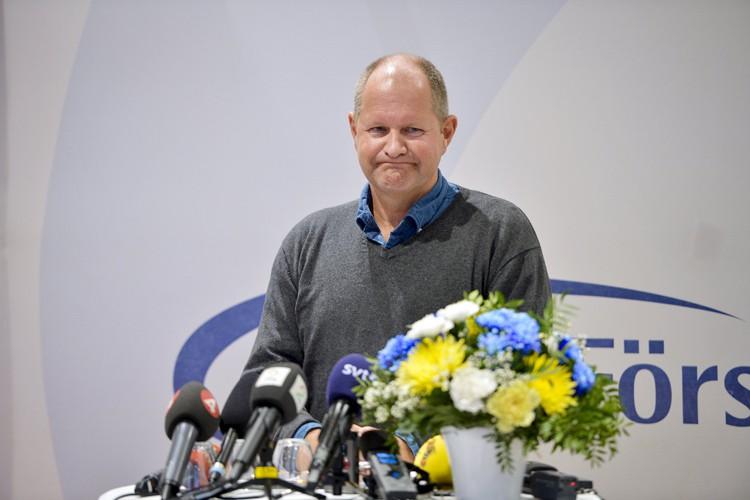 Lors d'une conférence de presse, le chef de... (PHOTO REUTERS)