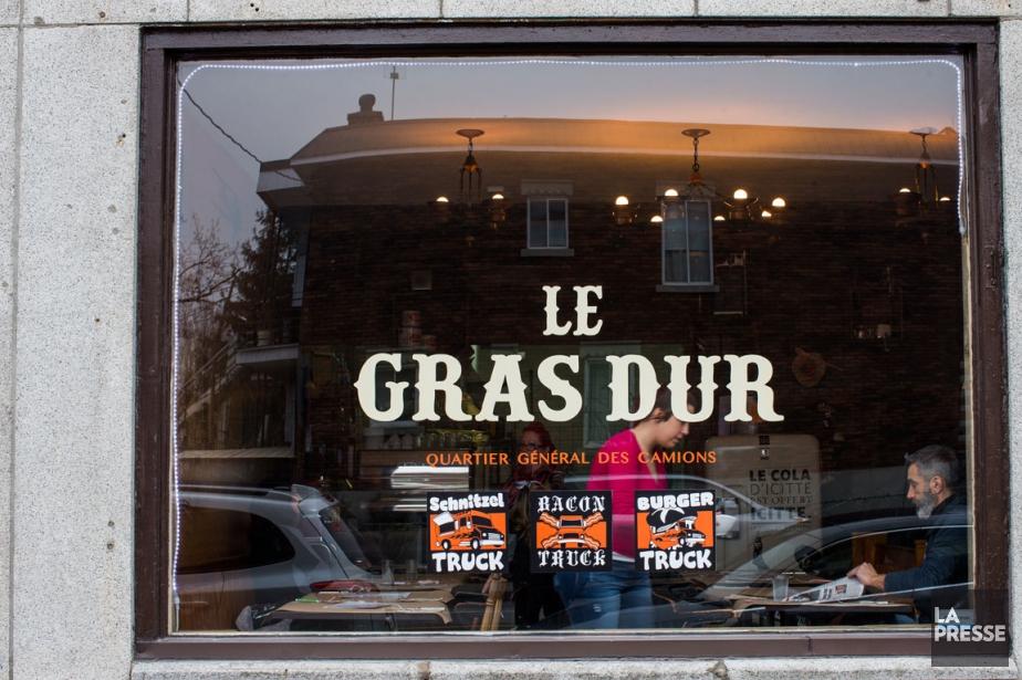 Situé dans le quartier Villeray, Le Gras dur,... (PHOTO OLIVIER PONTBRIAND, LA PRESSE)