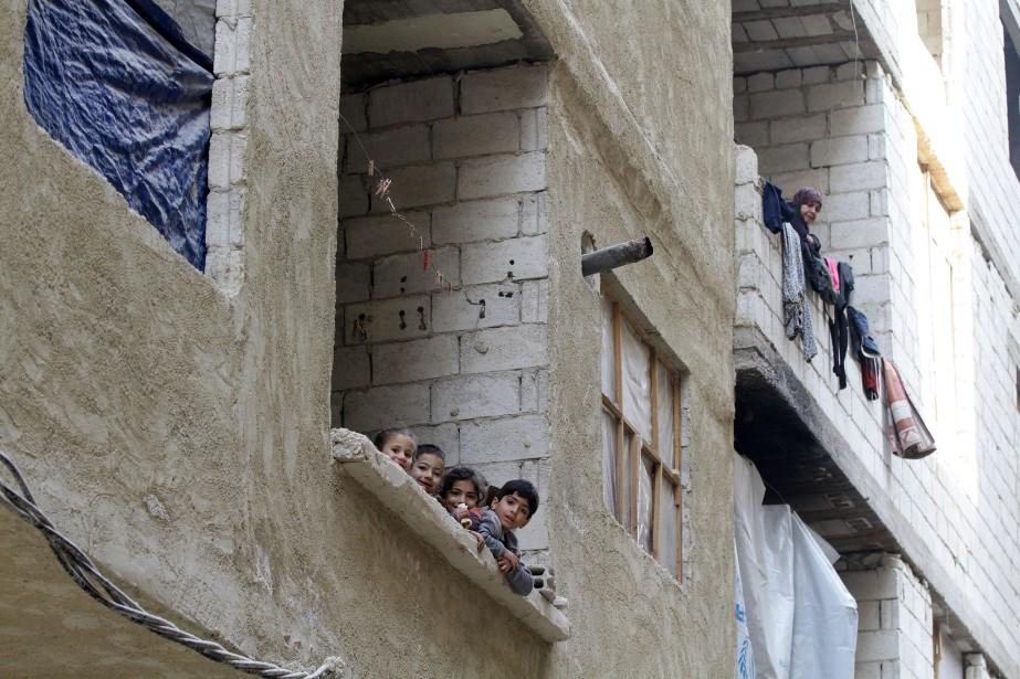 «En 2015, la moitié des 34 millions d'enfants... (PHOTO LOUAI BESHARA, ARCHIVES AGENCE FRANCE-PRESSE)