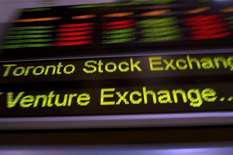 Les marchés boursiers nord-américains ont glissé, hier,... (PC, Frank Gunn)