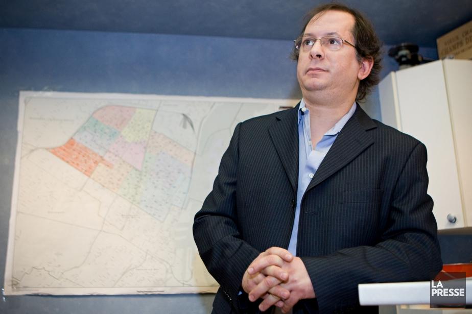 Marc-Boris St-Maurice, cofondateur du Bloc pot et du... (PHOTO DAVID BOILY, ARCHIVES LA PRESSE)