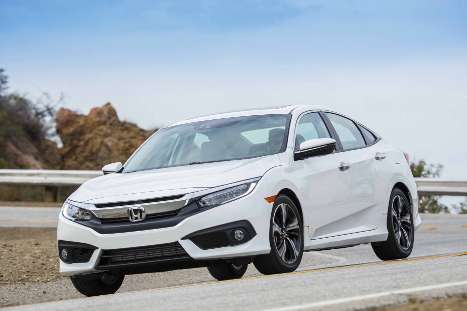 Honda Civic 2016 (PHOTO FOURNIE PAR HONDA)