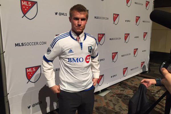 Kyle Fisher... (Photo fournie par l'Impact de Montréal)