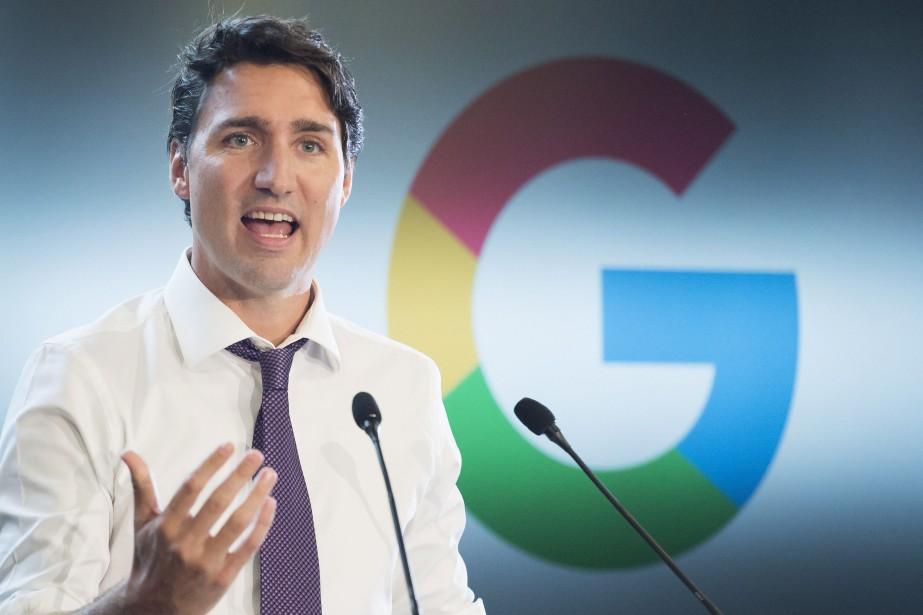 Le premier ministre du Canada, Justin Trudeau... (Photo Nathan Denette, La Presse Canadienne)