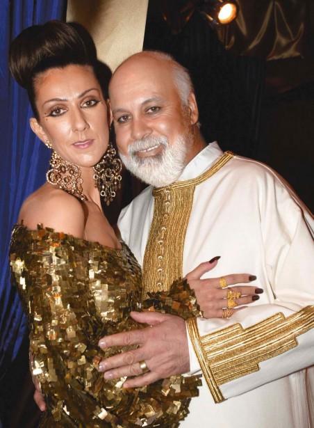 Céline Dion et René Angélil ont renouvelé leurs voeux de mariage au Caesar's Palace de Las Vegas en janvier 2000. (PHOTO ARCHIVES LA PRESSE)