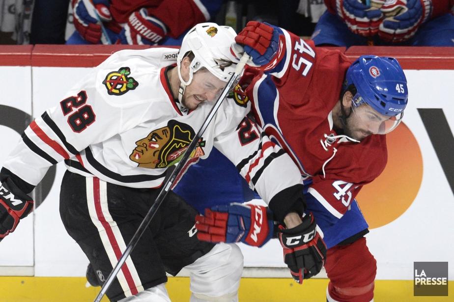 Relisez notre couverture de l'affrontement entre le Canadien et les Blackhawks...