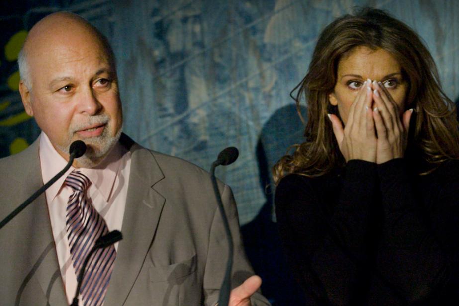 Céline Dion et René Angélil à l'Hôpital Ste-Justine... (PHOTO ARCHIVES LA PRESSE)