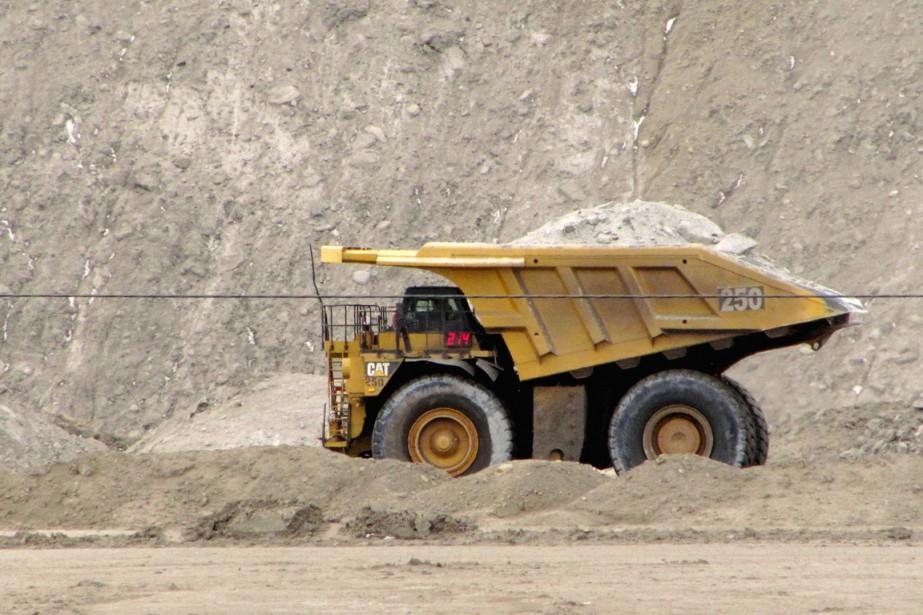 Selon le ministère, 40% du charbon extrait aux... (PHOTO MEAD GRUVER, ARCHIVES AP)