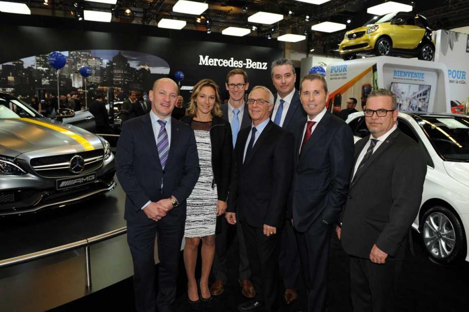 Avant premi re b n fice du salon international de l 39 auto for Mercedes benz montreal