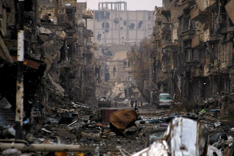 La ville de Deir Ezzor, dans le nord-est... (PHOTO AHMAD ABOUD, ARCHIVES AGENCE FRANCE-PRESSE)