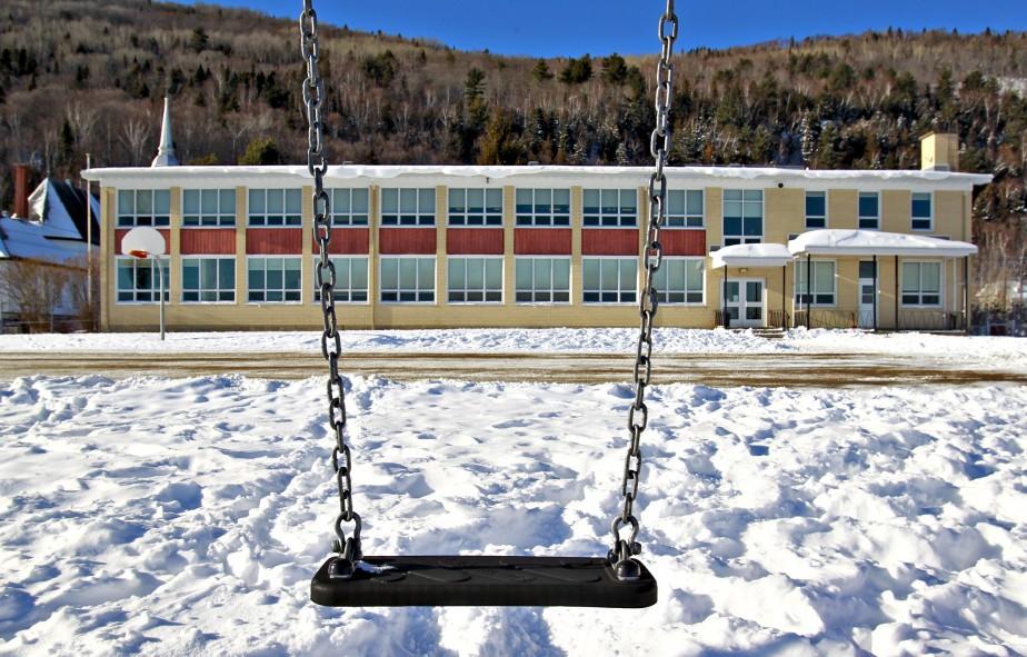 À peine une quarantaine d'élèves fréquentent l'école primaire aujourd'hui. (Le Soleil, Pascal Ratthé)