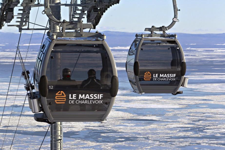 Les cabines du Massif (Le Soleil, Pascal Ratthé)