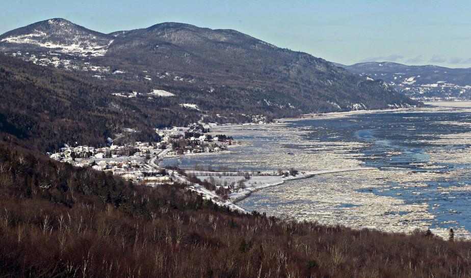 Vue de Petite-Rivière-Saint-François (Le Soleil, Pascal Ratthé)