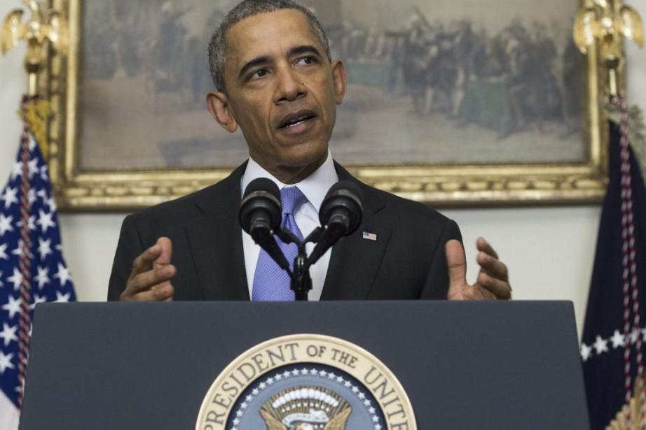 Barack Obama... (PHOTO SAUL LOEB, AFP)