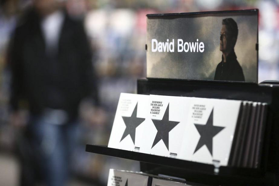 La mort deDavid Bowiea présentéBlackstarsous un jour nouveau... (Agence France-Presse, Justin Tallis)