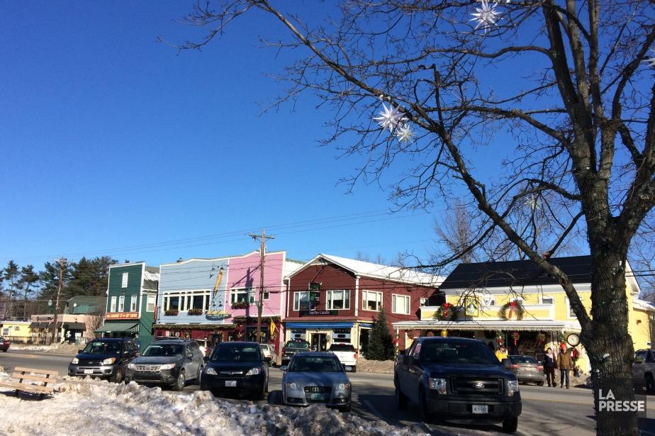 North Conway, dans le New Hampshire,a sur conserver... (PHOTO ÉMILIE CÔTÉ, LA PRESSE)