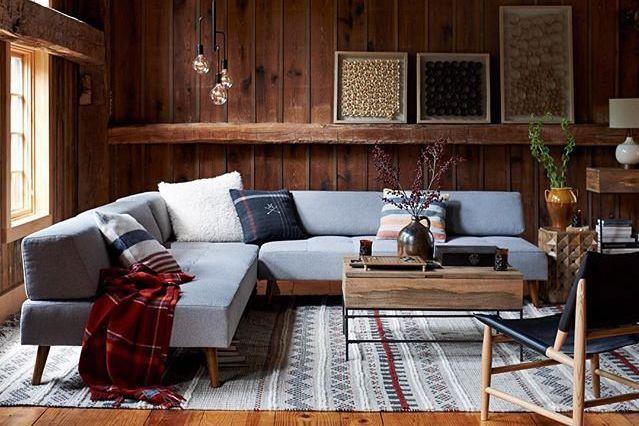 Confortable, simple et chaleureux, ce décor est complètement... (PHOTO TIRÉE DU COMPTE INSTAGRAM WESTELM)