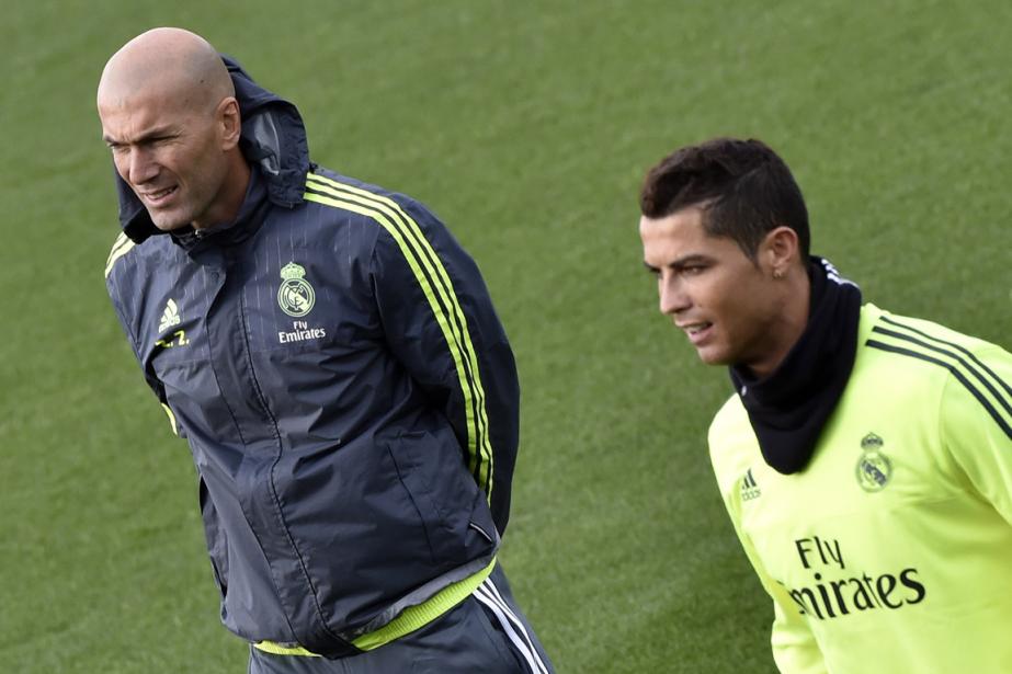 Le nouvel entraîneur du Real Madrid, Zinédine Zidane,... (Photo Gérard Julien, AFP)