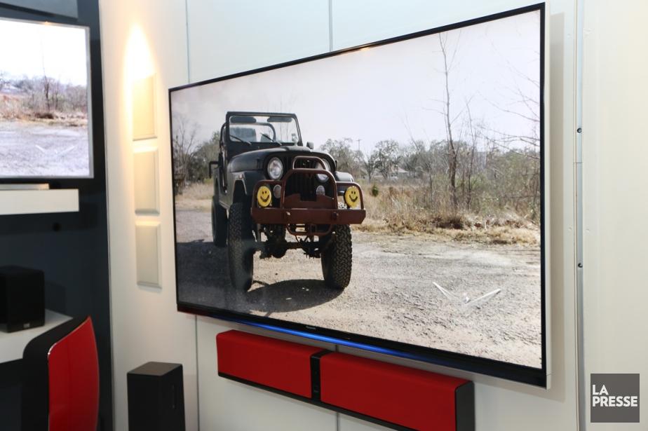 La télévision à ultra-haute définition (UHD ou 4K)... (PHOTO MARTIN CHAMBERLAND, ARCHIVES LA PRESSE)