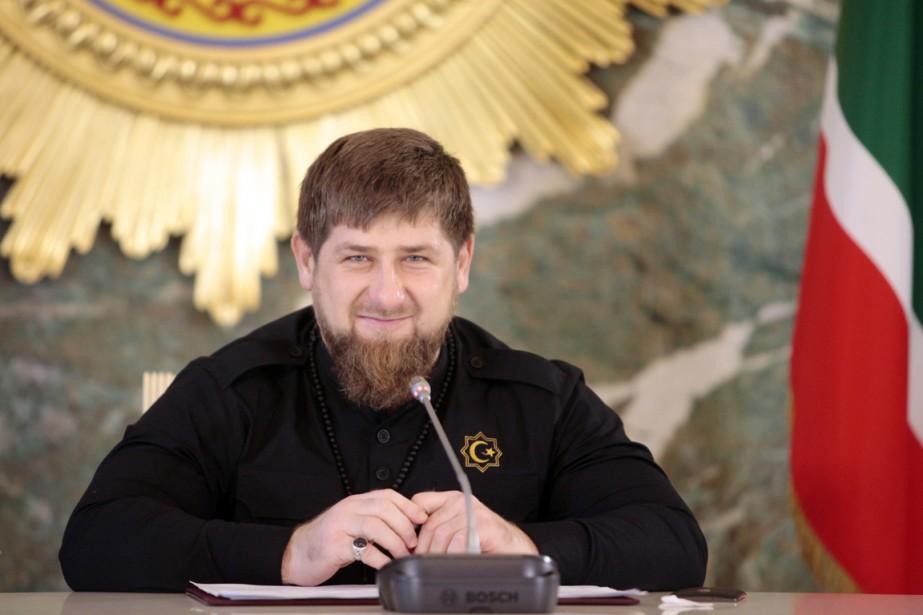 Le président de la république russe de Tchétchénie,... (PHOTO MUSA SADULAAYEV, ARCHIVES AP)
