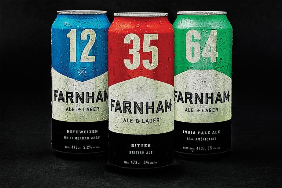 Farnham ale & lager a fait affaire avec l'une des plus importantes agences de publicité: Lg2. (PHOTO FOURNIE PAR FARNHAM ALE & LAGER)