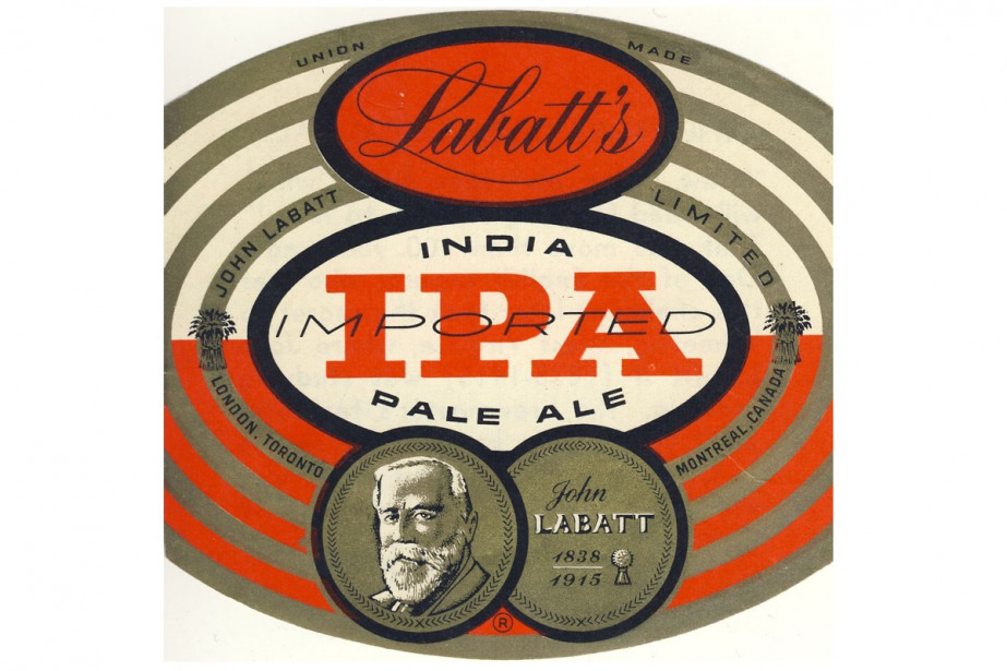 La India Pale Ale de Labatt en 1954. (PHOTO FOURNIE PAR LABATT)