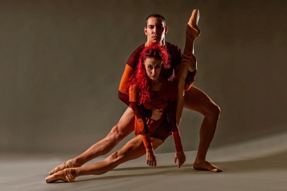 Céline Cassone et Mark Francis, danseurs des Ballets... (PHOTO CRAIG BANNERMAN, FOURNIE PAR DANSE DANSE)