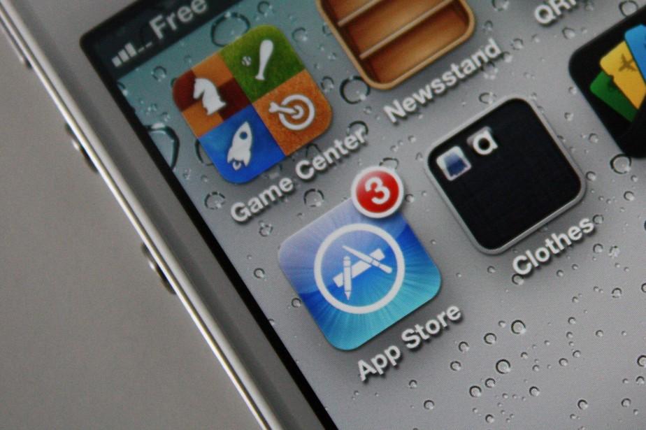 Les jeux représentent 75% des revenus sur l'App... (Photo RelaxNews)