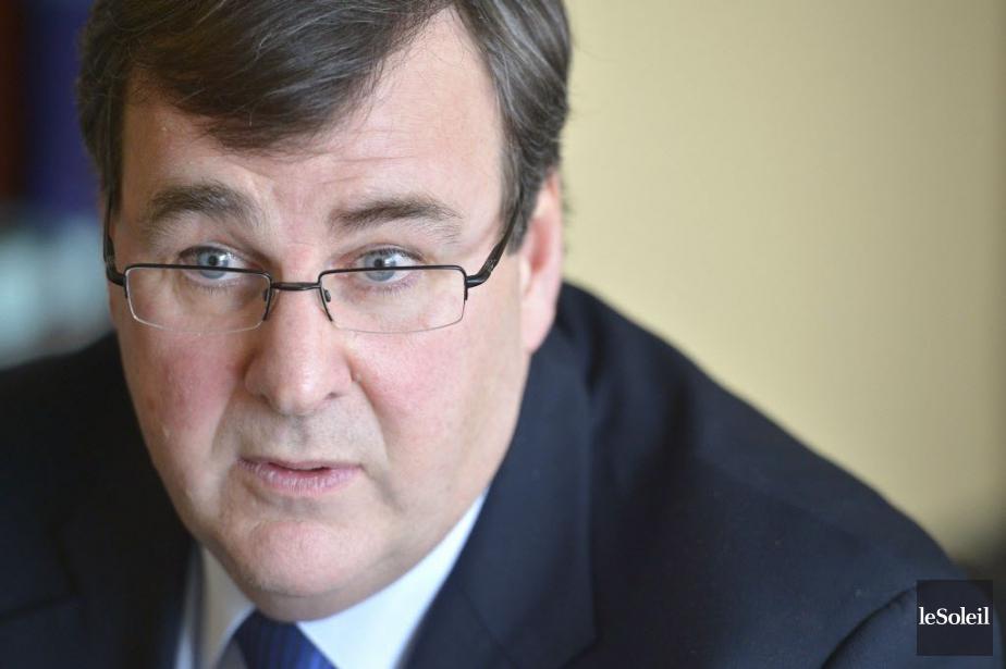 Le ministre de l'Éducation du Québec, François Blais... (Photo Yan Doublet, Le Soleil)