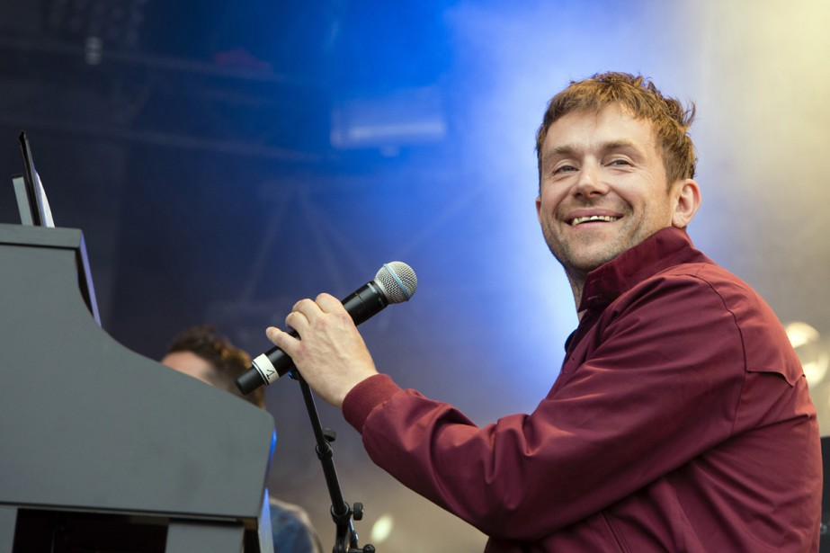Damon Albarn... (PHOTO ARCHIVES AFP)