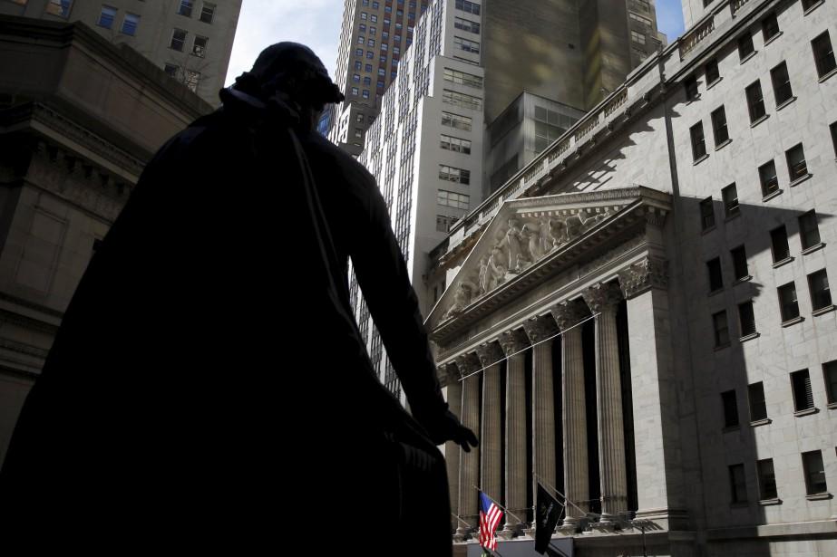 L'indice S&P 500 a perdu 1,2 % de... (PhotoMike Segar, Reuters)