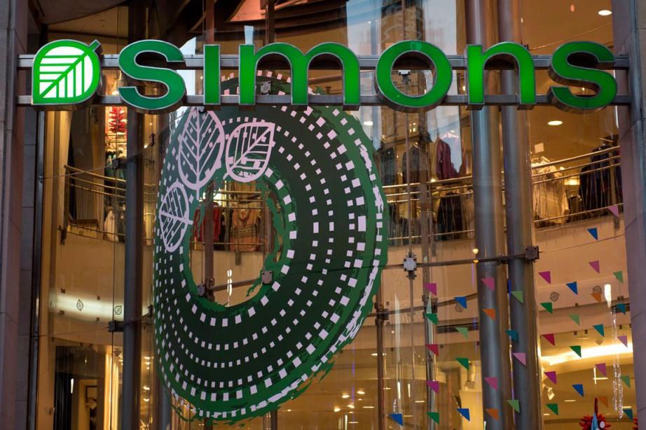 Le magasin Simons des Galeries de la Capitale,... (PHOTO PAUL CHIASSON, ARCHIVES LA PRESSE CANADIENNE)