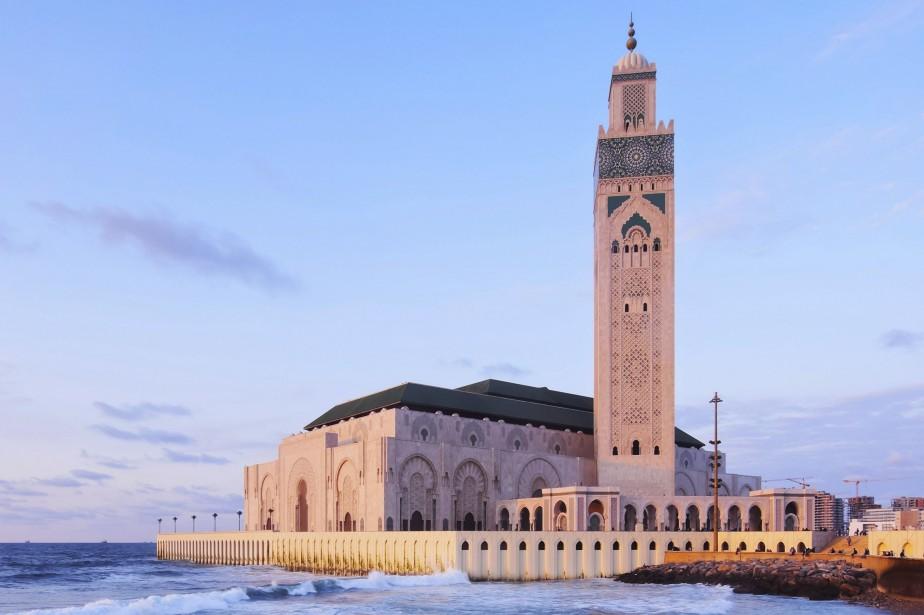 La mosquée Hassan II, située àCasablanca.... (PHOTO THINKSTOCK)