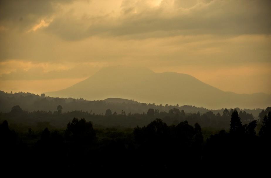 Vue générale du parc nationalVirunga, dans l'est de... (Photo Vanessa Vick, The New York Times)