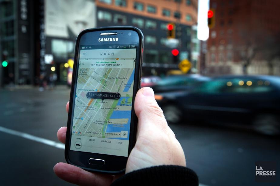 «Plus le cocktail de transports, incluant Uber, sera... (PHOTO OLIVIER JEAN, ARCHIVES LA PRESSE)